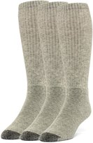 Galiva Men's Cotton ExtraSoft Over the Calf Cushion Socks - 3 Pairs