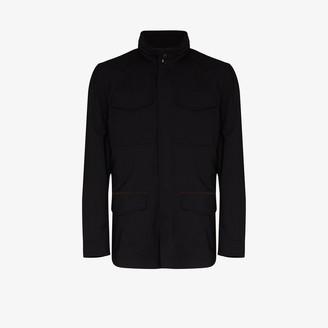 Ermenegildo Zegna High Neck Wool Jacket