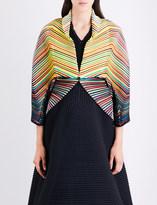 Issey Miyake Iris pleated bolero jacket