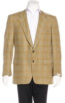 Brioni Traiano Cashmere Plaid Sport Coat