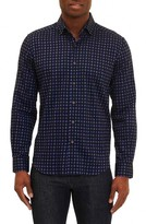 Robert Graham Men's Barnaby Tailored Fit Check Sport Shirt