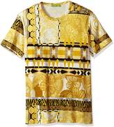 Versace Men's Allover Print T-Shirt