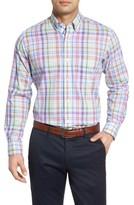 Tailorbyrd Men's Big & Tall Catalina Regular Fit Plaid Sport Shirt