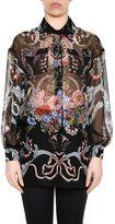 Fendi Baroque Print Shirt