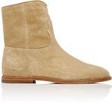 Off-White Men's Side-Zip Ankle Boots-BEIGE