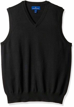 Buttoned Down Men's Supima Cotton Lightweight Sweater Vest