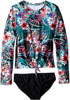 Seafolly Tropical Vacation Surf Set Girl's Swimwear Sets
