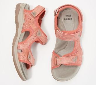 Earth Origins Suede Sport Sandals- Higgins Halton