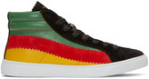 Paul Smith Multicolor Lynn High-top Sneakers