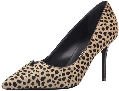 Giuseppe Zanotti Women's Low Heel Leopard Dress Pump