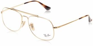 Ray-Ban RX6389 Metal Square Prescription Eyeglass Frames