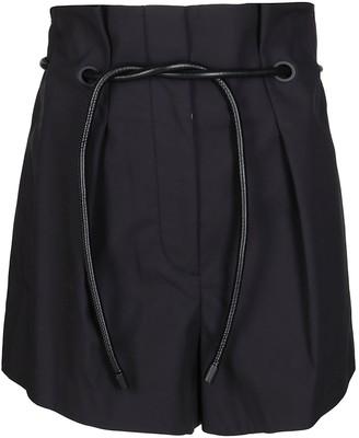 3.1 Phillip Lim Paperbag Tie-Waist Shorts