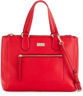 Cole Haan Ellie Leather Satchel Bag, True Red
