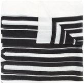 Alexander Wang barcode scarf - women - Cashmere/Modal - One Size