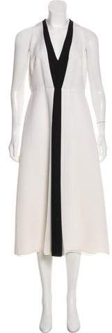 Valentino Virgin Wool Midi Dress
