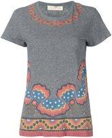 Valentino 'Rockstud Star Stripes' T-shirt - women - Cotton - L