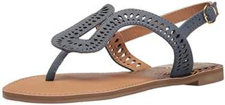 Qupid Women's Athena-1023a Flat Sandal