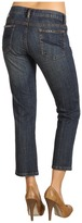 Stetson Slim Leg Cropped Indigo Denim Jean