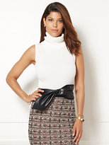 New York & Co. Eva Mendes Collection - Convertible Turtleneck Sweater Shell