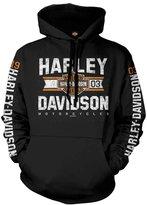Harley-Davidson Pullover Hooded Sweatshirt - Varsity | Overseas Tour LG