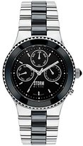Storm Unisex-Adult Quartz Watch, Analogue Classic Display and Stainless Steel Strap 47110/BK
