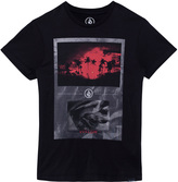 Volcom Black Blood Stream Photo Tee