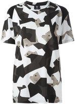 MCM camouflage print T-shirt - women - Cotton/Spandex/Elastane/Lyocell - S