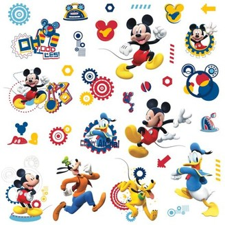 York Wall Coverings York Wallcoverings Mickey Mouse Wall Decals