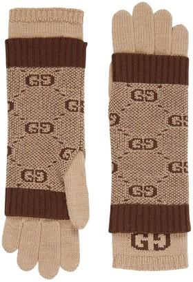Gucci Kids GG wool gloves