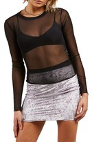 Volcom Women's Mesh Me Now Top