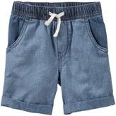 Osh Kosh Toddler Boy Denim Pull-On Shorts