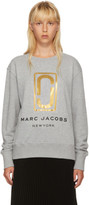 Marc Jacobs Grey Logo Sweatshirt