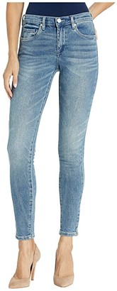 Blank NYC The Bond Mid-Rise Denim Skinny in Static Cling