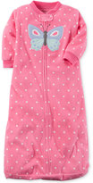 Carter's Dot-Print Butterfly Fleece Sleep Sack, Baby Girls (0-24 months)