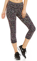 Lucy Activewear Studio Hatha Printed Capri Leggings