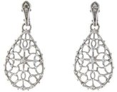 Judith Ripka Sapphire Lace Drop Earrings