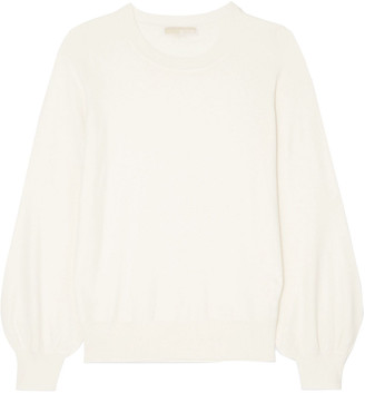 MICHAEL Michael Kors Gathered Knitted Sweater