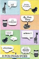 Martha Stewart Baby Bubble Words Dimensional Scrapbooking Cardmaking Stickers