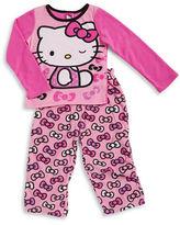 AME Sleepwear Hello Kitty Fleece Pajama Set