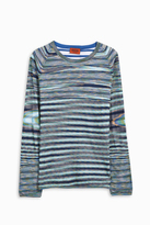 Missoni Reverse Stripe Top