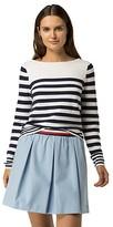 Tommy Hilfiger Final Sale-Stripe Boatneck Sweater