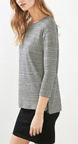 Esprit Soft striped double-faced jersey top