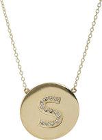 Women's Initial Pendant Necklace