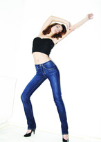 Lollobrigida High waist straight leg