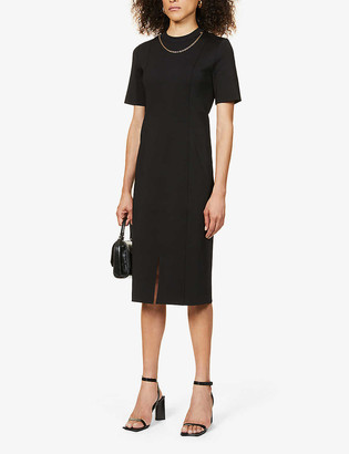 Givenchy Chain-embellished woven midi dress