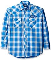Wrangler Men's Dodge Ram Rodeo Series Woven Shirt