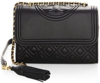 Tory Burch Small Fleming Leather Shoulder Bag