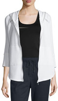 Elie Tahari Jemma Hooded Jacket