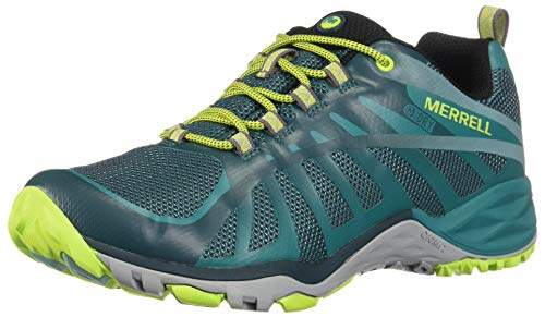 417368a0 Women's Siren Edge Q2 Wp Low Rise Hiking Boots, Green Jungle, 3.5 (36 EU)
