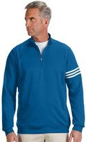 adidas Men's climalite 3-Stripes Pullover XL Bluebonnet/White